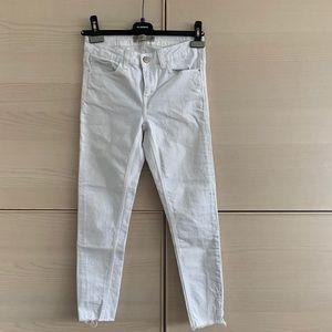 Zara White Skinny Jean